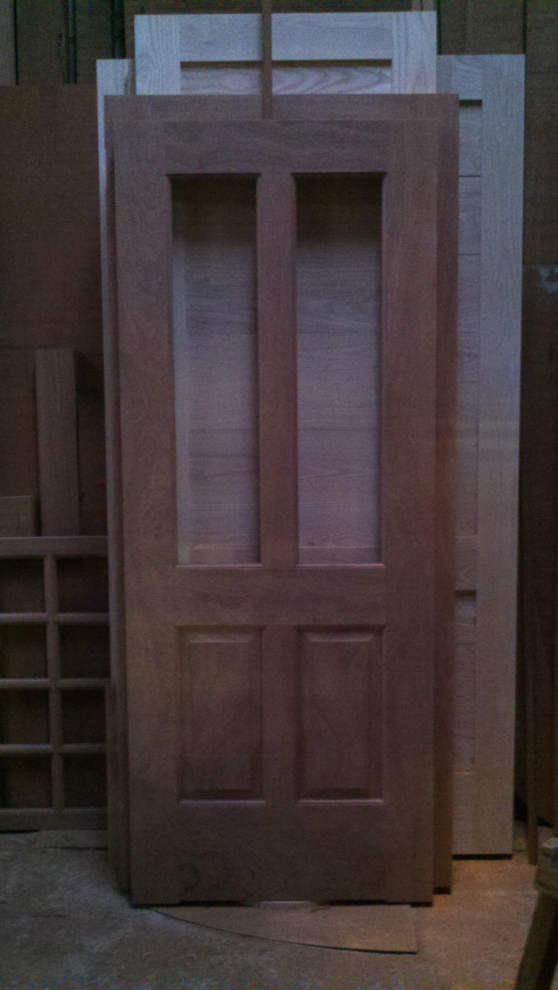 Exterior doors including sidelights and transoms bill 39 s for Custom transom